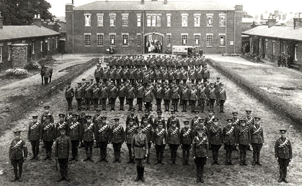 The Lincolnshire Regiment. Photo: courtesy of the Museum of Lincolnshire Life