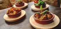 Hot tapas dishes at Olivares in Lincoln. Photo: Steve Samiles for The Lincolnite