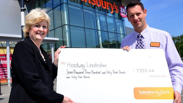Headway Lincolnshire were awarded a total sum of £7,353.44. Photo: Steve Smailes for The Lincolnite