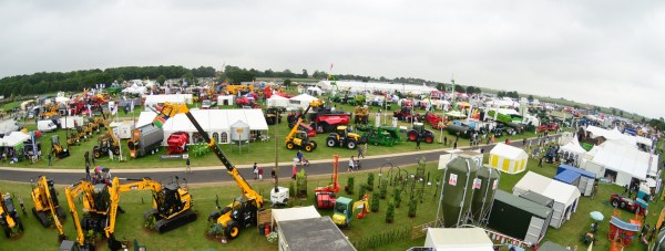 A view from above 130th the Lincolnshire Show. Photo: Steve Smailes/The Lincolnite