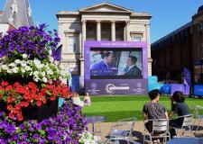 The Commonwealth Live Screen in Cornhill, Lincoln. Photo: Steve Smailes for The Lincolnite