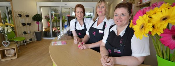 Sarah Wilds, Nicky Hackney and Sharon French at the new store in Birchwood Shopping Centre. Photo: Lincolnshire Co-Operative