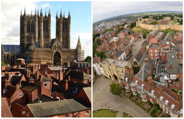 Scale the looming Lincoln Cathedral for outstanding views of the city.