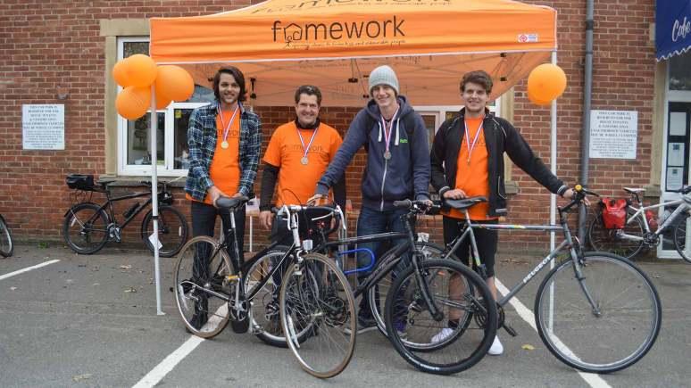 Dale, David Spivey (Framework), Ryan and Andy. Photo: LCC