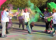 The Colour Dash will take place at the Lincolnshire Showground on May 9. Photo: Bryony Hooper