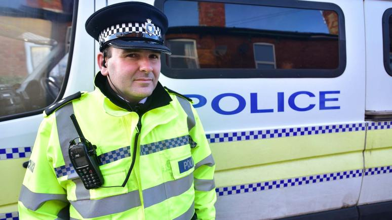 Inspector Pat Coates, the Lincoln Centre Neighboroughood Policing Inspector. Photo: Steve Smailes for The Lincolnite