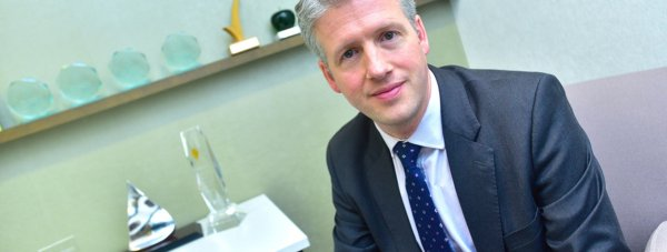 Simons Chief Executive Tom Robinson. Photo: Steve Smailes for Lincolnshire Business