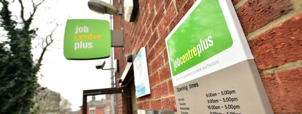 Lincoln Jobcentre on Orchard Street. Photo Steve Smailes for The Lincolnite