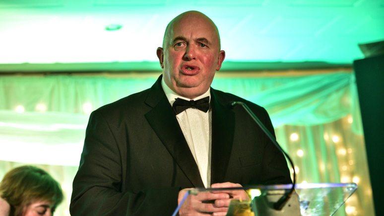 Councillor Colin Davie presented the awards