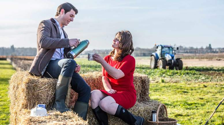 George with sexiest female lizi. Photo: Farmers Weekly