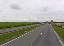 The A1 at Marston. Photo: Google Street View