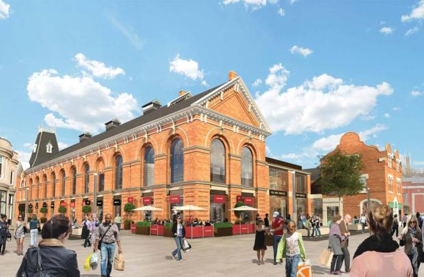 The first stage of the plan will be to redevelop the Grade II listed Corn Exchange.