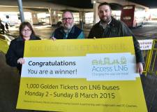 Some 1,000 golden tickets are up for grabs with plenty of prizes to be won. Photo: Steve Smailes for The Lincolnite