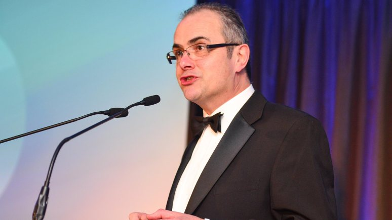 The night was hosted by BBC Radio Lincolnshire presenter Melvyn Prior. Photo: Steve Smailes for Lincolnshire Business