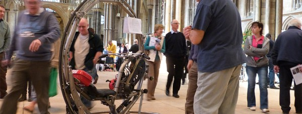 The Spark Engineering Festival was last at Lincoln Cathedral in 2013.