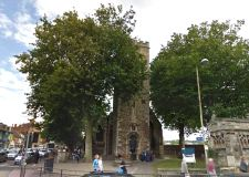 St Mary Le Wigford Church on Lincoln High Street. Photo: Google Street View