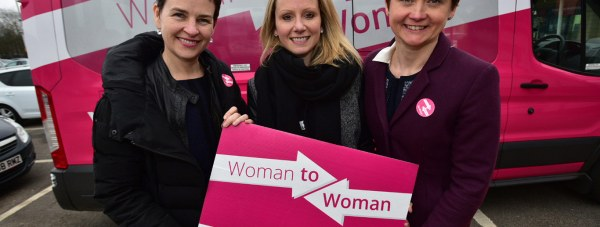 Left to right: Mary Creagh, Lucy Rigby, Yvette Cooper. Photo: Steve Smailes for The Lincolnite