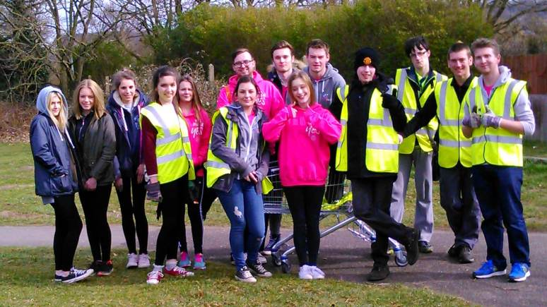 National Citizen Service volunteers in Lincoln