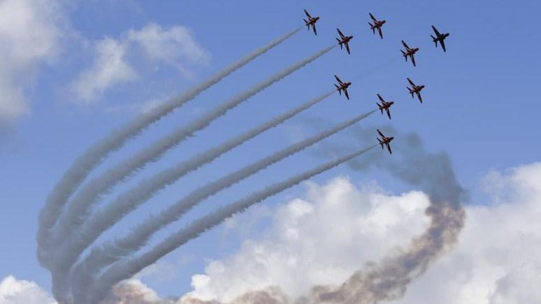 Photo RAF Red Arrows