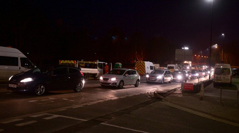 Closure in the Canwick Road area have caused disruption to some motorists overnight over the last 10 nights.