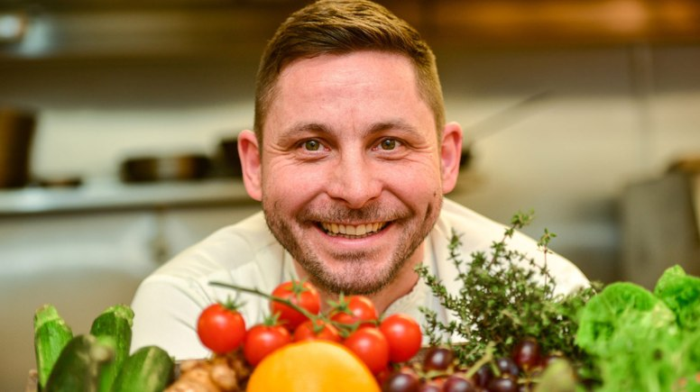 Lincolnshire Chef Steven Bennett is on the cover of this week's Lincolnshire Business magazine. Photo: Steve Smailes for Lincolnshire Business