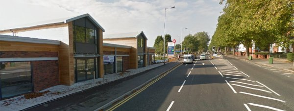 Units on Wragby Road, close to the Tesco supermarket. Photo: Google Street Views
