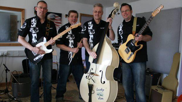 L-R: Michael Gadd, Rik Gray, Eric Hubbert and Andrew Cotton