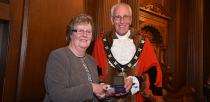 "Mayoral Medal winner Ivy Battersby for her ""excellent work in the community"". Photo: Steve Smailes for The Lincolnite"