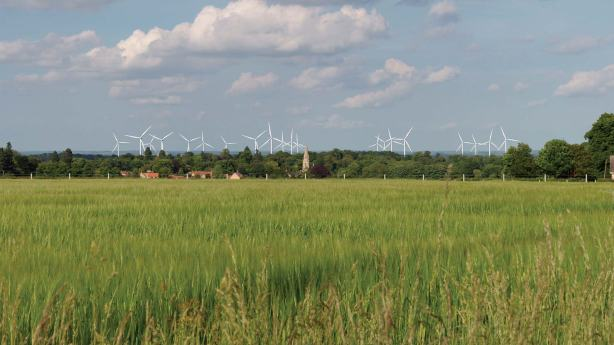The Nocton Fen wind farm proposal. Photo: Vattenfall