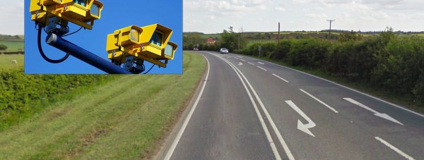 Average speed cameras are being installed on the A15 between Lincoln and Sleaford.