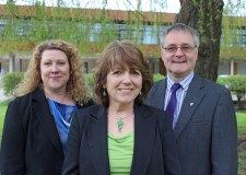 Business Growth and Skills Advisers Toni O'Brien, Noreen Read and David Hawkins