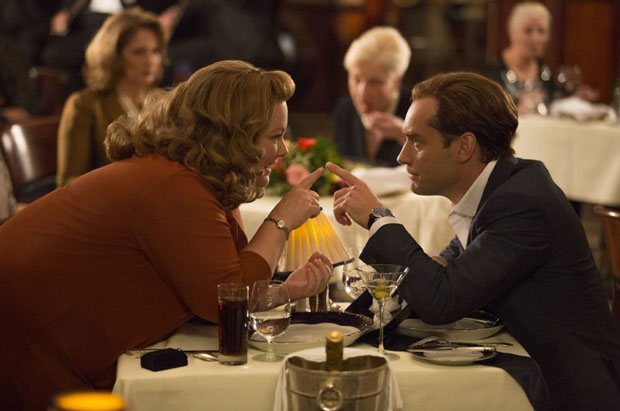 Jude Law and Melissa McCarthy in Spy (2015). Photo: Twentieth Century Fox