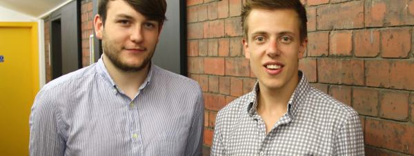 Chatty Imp Founders Bradley McKenny and  Peter Watson.