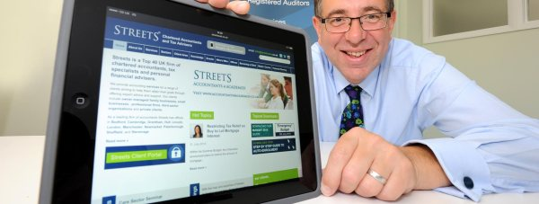 James Pinchbeck, Marketing Partner at Streets Chartered Accountants