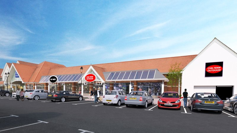 The former Lidl store would be transformed into three new units for retailers.