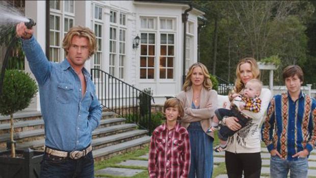 Christina Applegate, Leslie Mann, Chris Hemsworth, Skyler Gisondo and Steele Stebbins in Vacation. Photo: Warner Bros. Entertainment Inc.