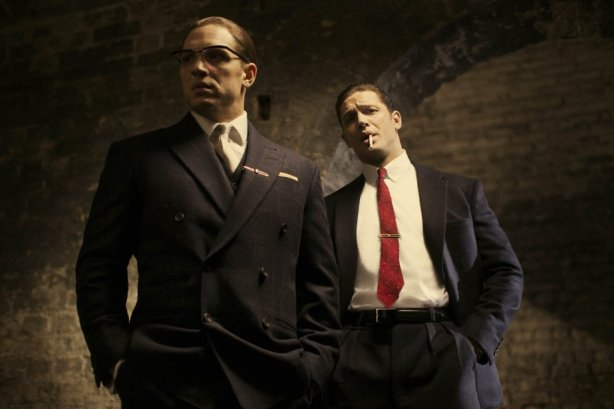 Tom Hardy and Tom Hardy in Legend. Photo by Studio Canal.