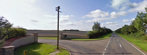 The Heath, Wellingore off Pottergate Road. Photo: Google Street View