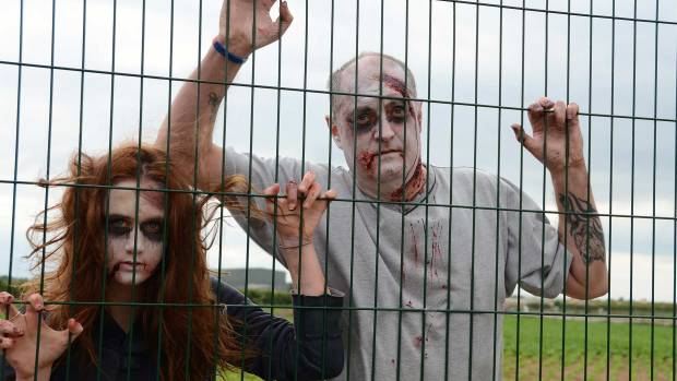 The Waddington zombie apocalypse takes place at Lincolnshire Fire and Rescue's training facility on October 31