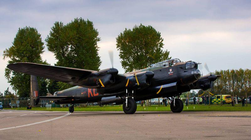 BBMF-Lancaster-Con-Crown-Copyright