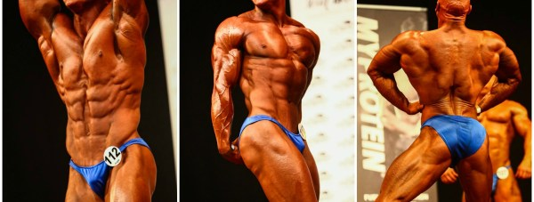 Craig Barton competing in the UKBFF British finals this weekend.