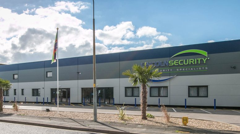 Lincoln Security's new premises in Lincoln.
