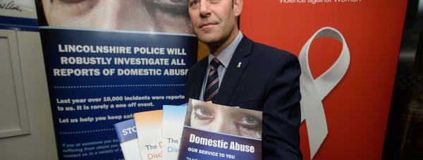 Detective Superintendent Rick Hatton, Head of the Public Protection Unit for Lincolnshire Police. Photo: Steve Smailes for The Lincolnite