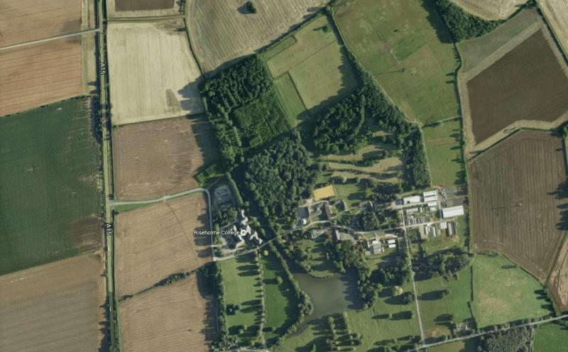 The 212 hectare site north of Lincoln would be developed under the plans, which include housing in the north east corner.