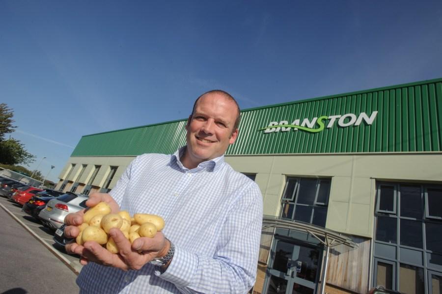 James Truscott Managing Director for Branston Potatoes. Photo: Steve Smailes