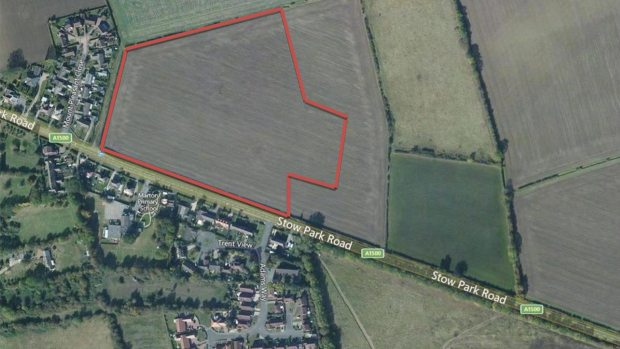 An aerial view of the proposed development. Photo: KBA Planning Ltd