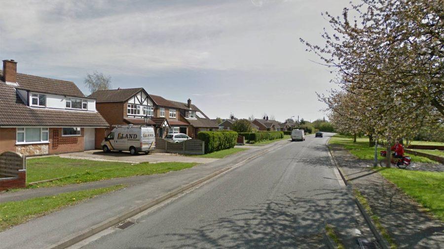 The burglary happened on Sykes Lane in Saxilby. Photo: Google Street View