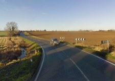 Waynham Hollow on the B1188 Sleaford Road. Photo: Google Street View