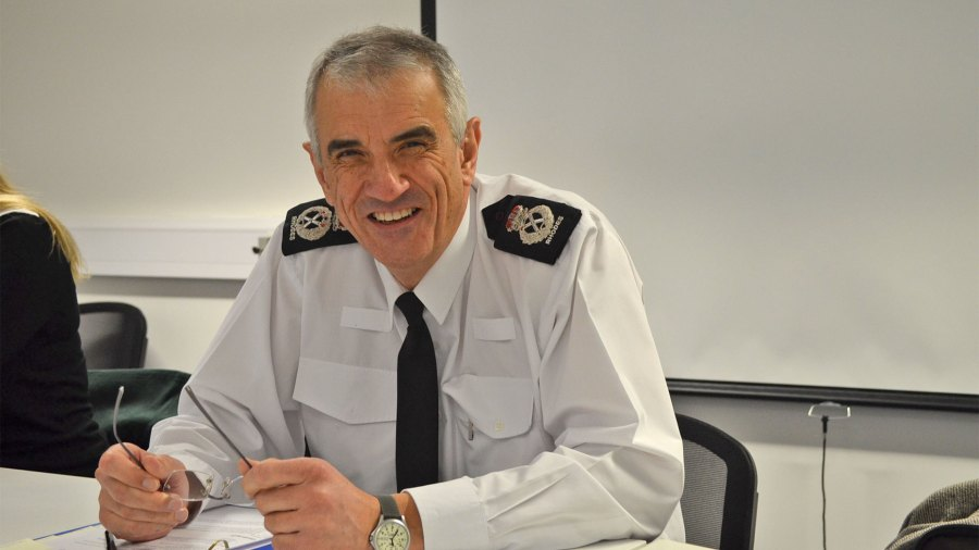 Chief Constable Neil Rhodes. Photo: The Lincolnite