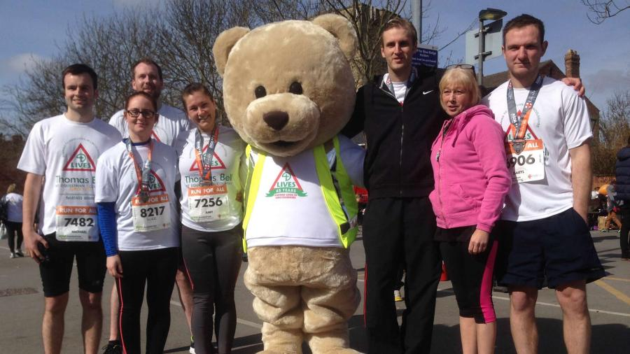 LIVES at the Lincoln 10k in 2015